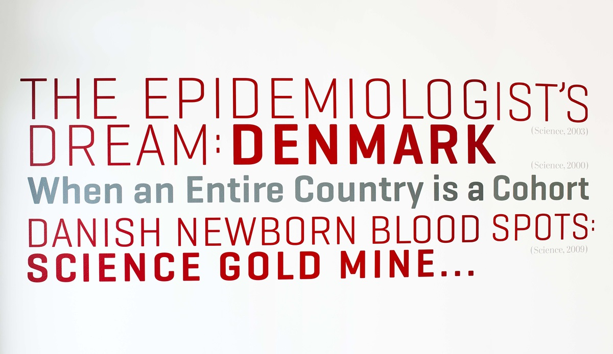 The epidemiologist's dream: Denmark